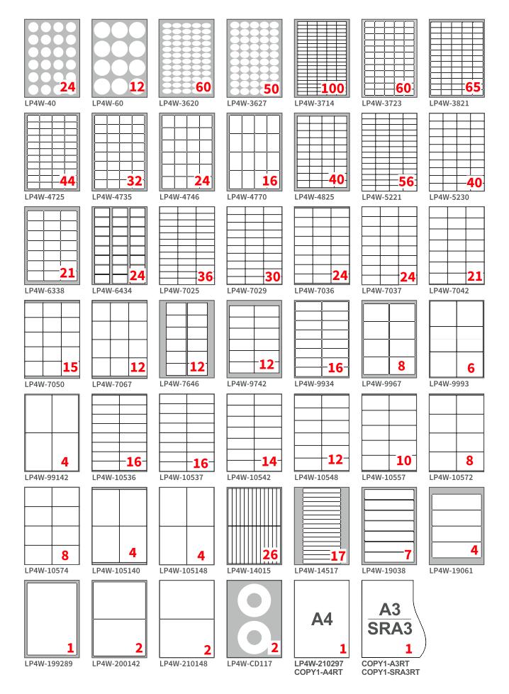 Fogli di carta lucida adesiva per stampa di etichette colore bianco lucido formato A4 confezione da 100